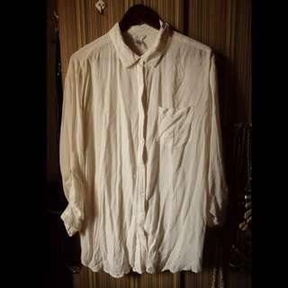Forever 21 White Button-Down