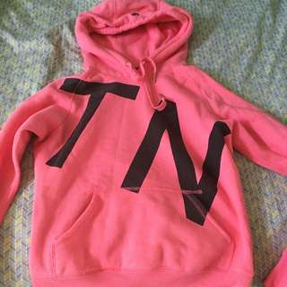 Pink Tna Sweatshirt Size Medium
