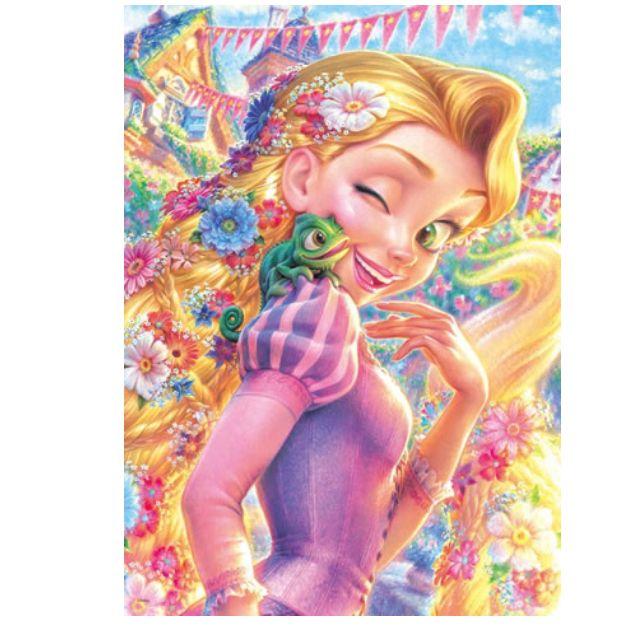 【拼圖LocalKing】〝現貨&新品 〞日本拼圖 500片 迪士尼拼圖 長髮公主 樂佩 D-500-468