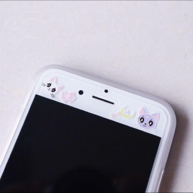 美少女戰士 鋼化玻璃膜 Iphone 蘋果 貓 露娜