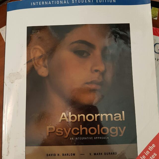 Abnormal Psychology Textbook