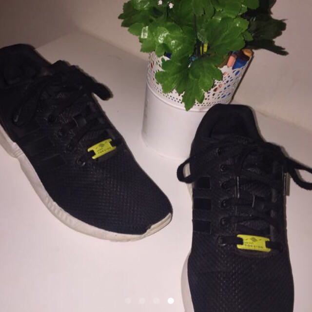 nouveau style 40c82 3c7f6 Adidas Flux + Free Asics Jumper, Women's Fashion, Shoes on ...