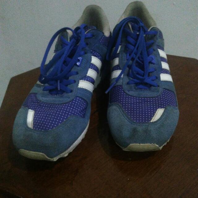 acheter populaire 9dd78 b9810 Adidas Zx 650 Blue Size 40, Men's Fashion, Men's Footwear on ...