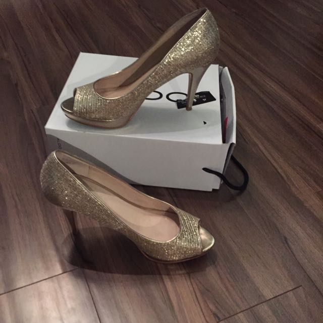Aldo Gold High Prom Shoes