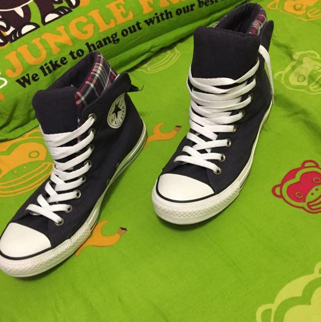 女鞋 Converse Allstar 帆布鞋高筒