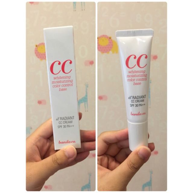banila co CC霜 SPF30 PA++ 30ml 宋智孝代言