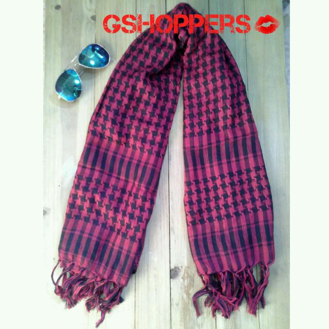 BRAND NEW: Maroon Scarf