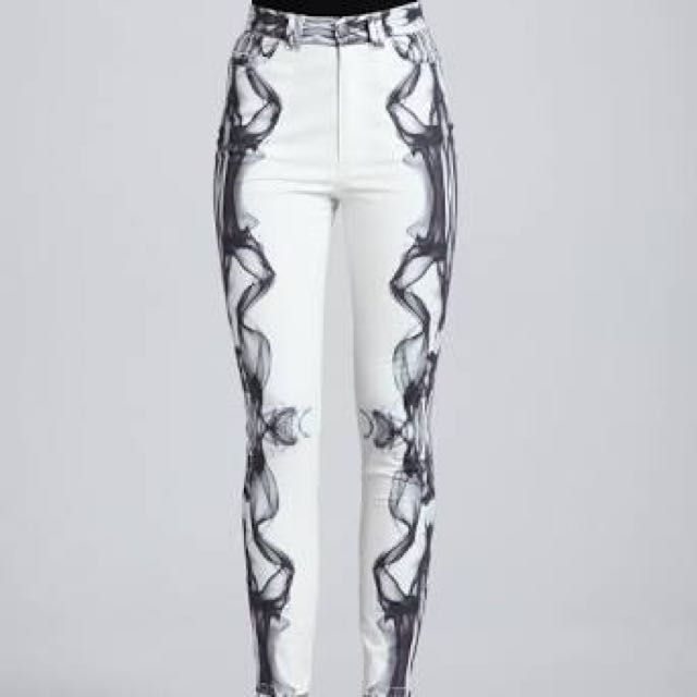 Cameo The Label Smoke Jeans Xs