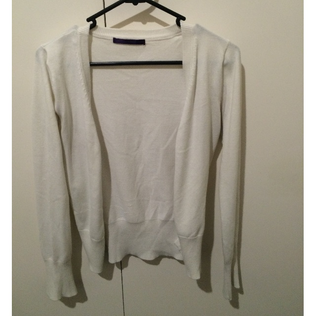 Cotton On - White Cardigan