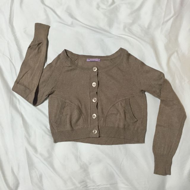 Cropped Cardigan [preloved]