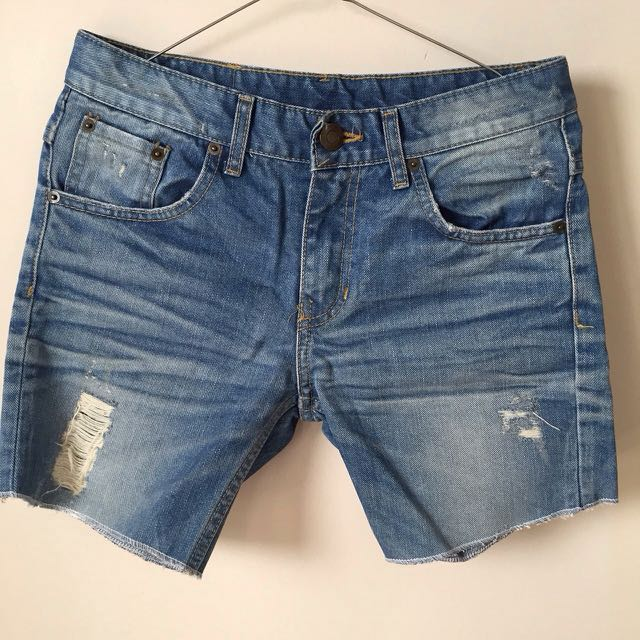 Repriced - Denim shorts