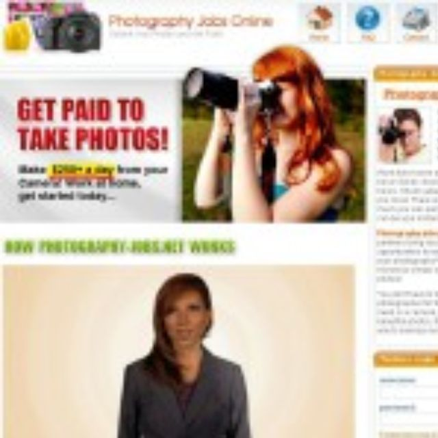Do You Want To Get Paid To Take Photos!