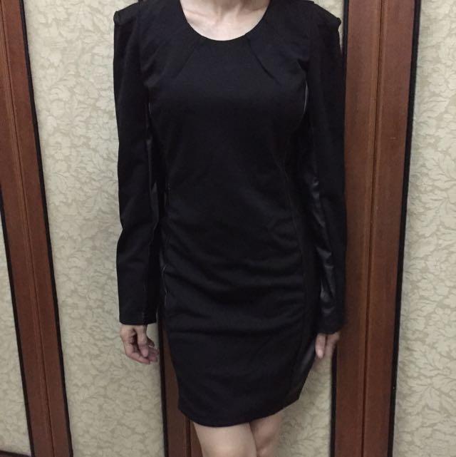Dress Korea Hitam
