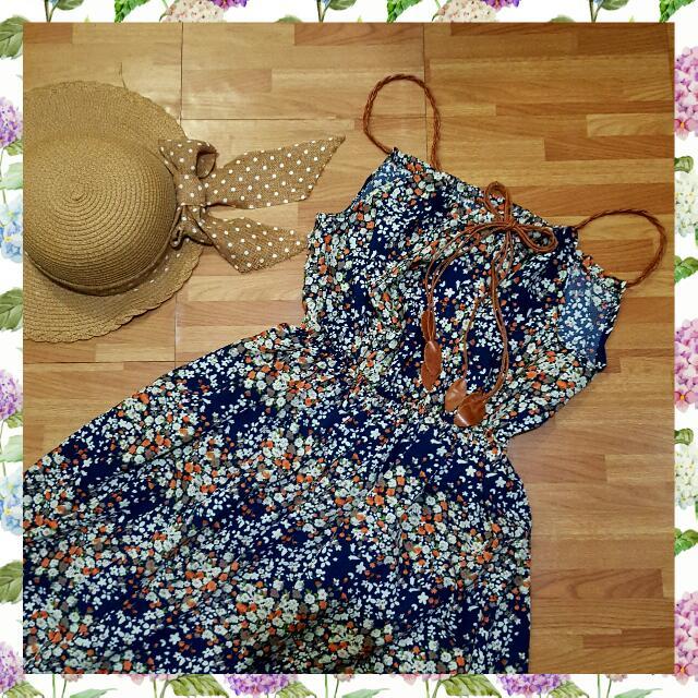 (R) Floral Maxi Dress