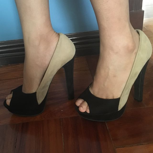Forever 21 Colour Block Heels