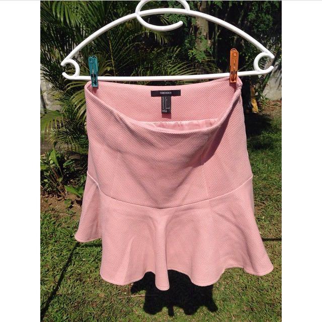 Forever 21 Flouncy Skirt