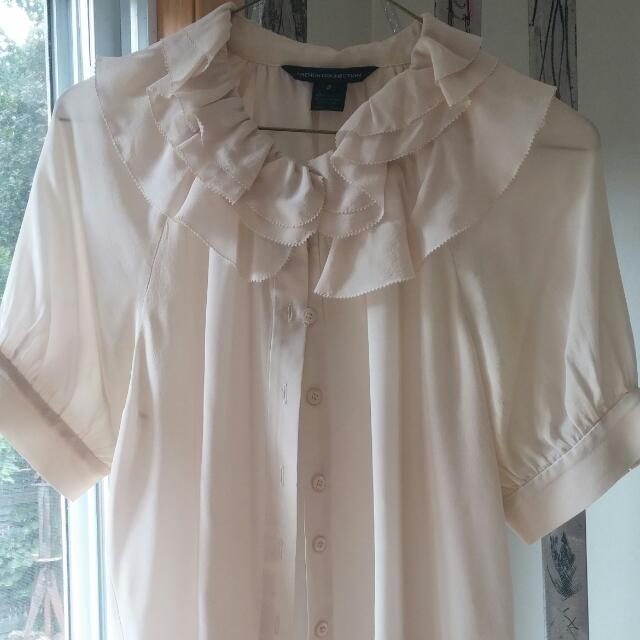 French Connection Blush Blouse