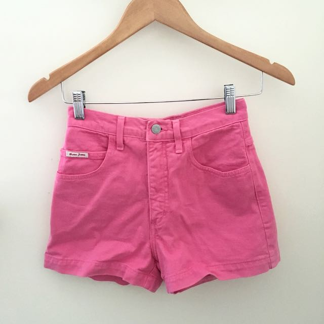 GUESS Hot Pink High waisted Shorts