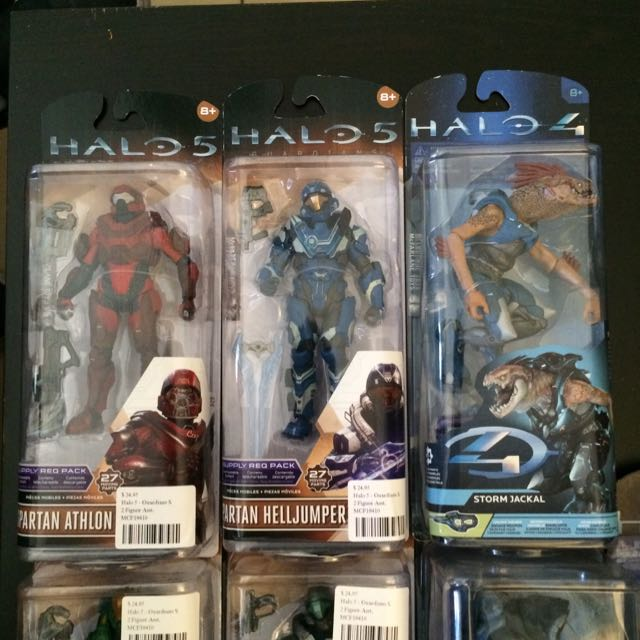 Halo Action Figures by McFarlane