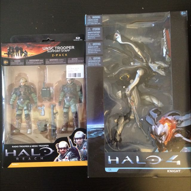 Halo Action Figures by McFarlane Toys