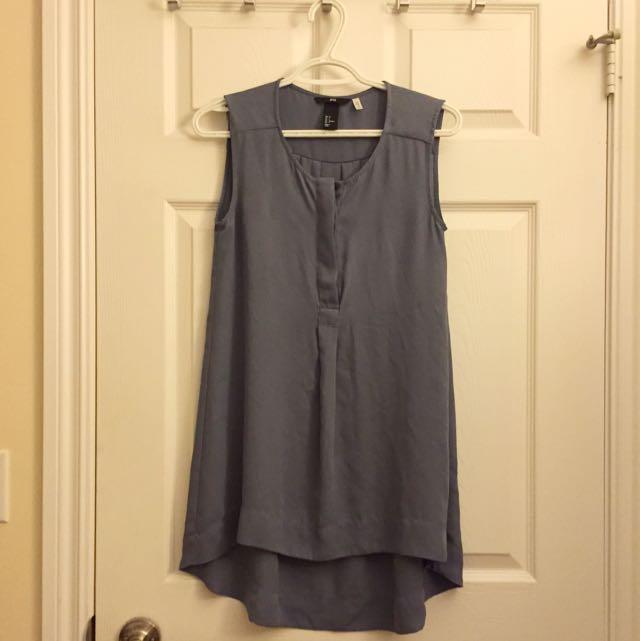 H&M Sleeveless Drape Top (size 4)