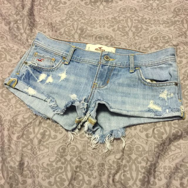 HOLLISTER Denim Shorts- Size 0