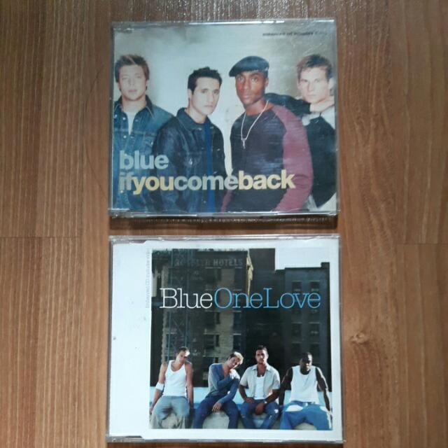 [IMPORTED] 2 CD Single Blue