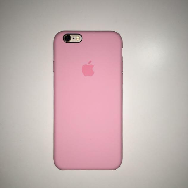 【降價】蘋果原廠iPhone 6s 矽膠護套-淡粉色,原價1150元