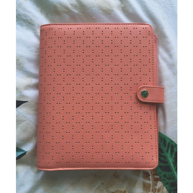 Kikki.k Perforated Leather Planner