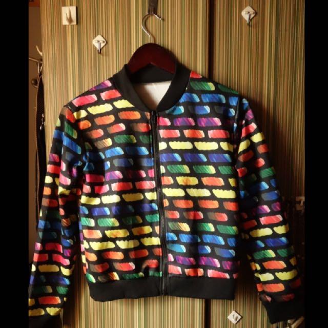 KissJane Colorful Jacket