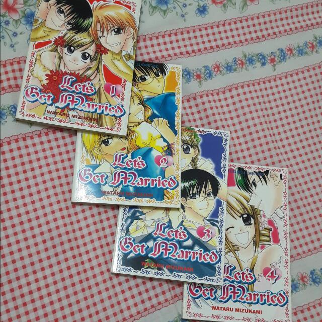 Komik Let's Get Married (Watase Yuu)