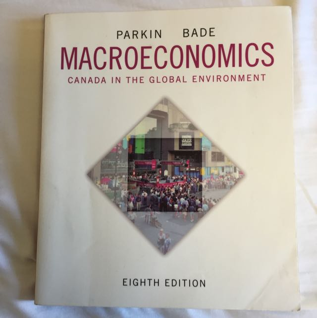 Macroeconomics 8th Edition Textbook