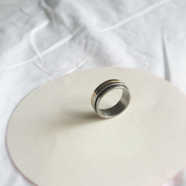 Men's Sterling Silver Ring