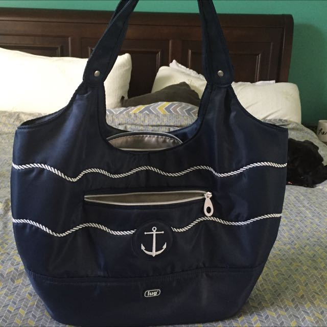 Navy Blue Lug Purse/bag
