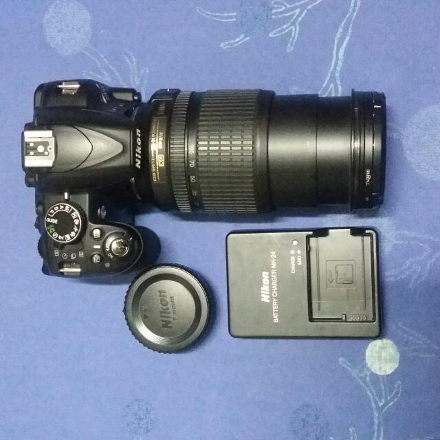 nikon d3100 + 18-105mm afs dx lens