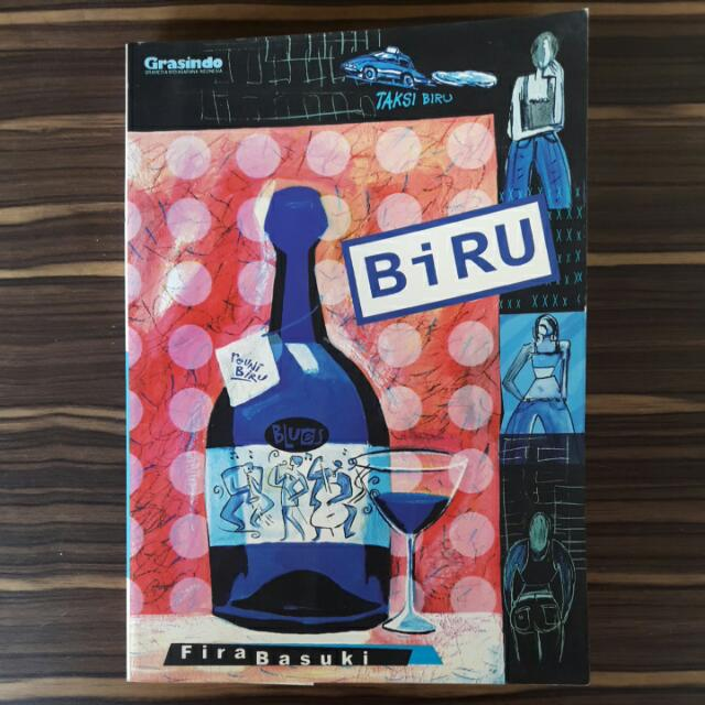 """Novel """"Biru"""" Fira Basuki"""