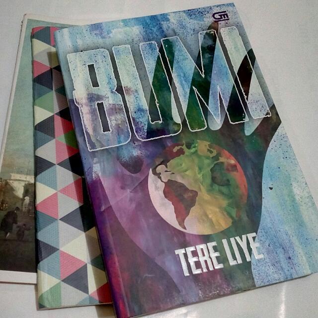 Novel BUMI - Tere Liye