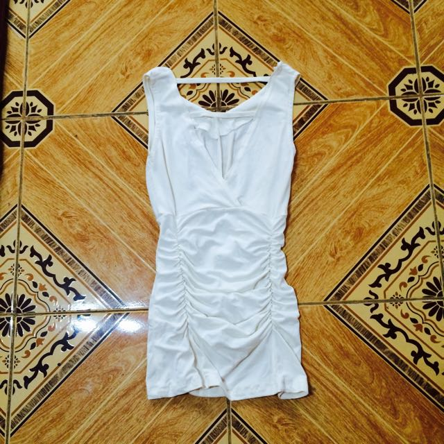 Off white party dress