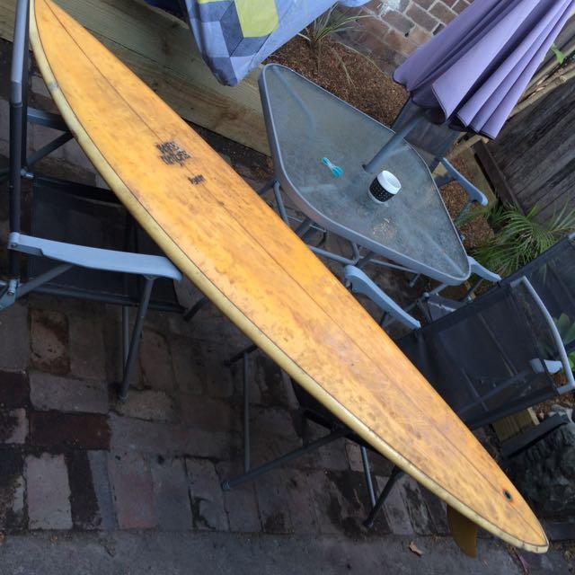 Old Surf Board Bare Nature