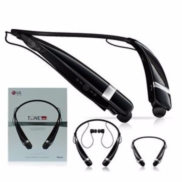 462fc8a10fe Original LG Electronics Tone Pro HBS-760 Bluetooth Wireless Stereo Headset  - Black, Electronics, Audio on Carousell