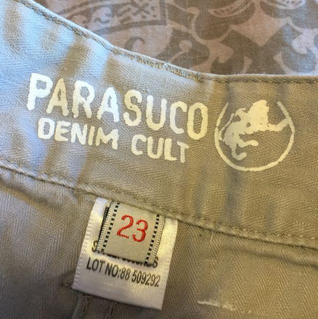 PARASUCO Shorts, Size 23
