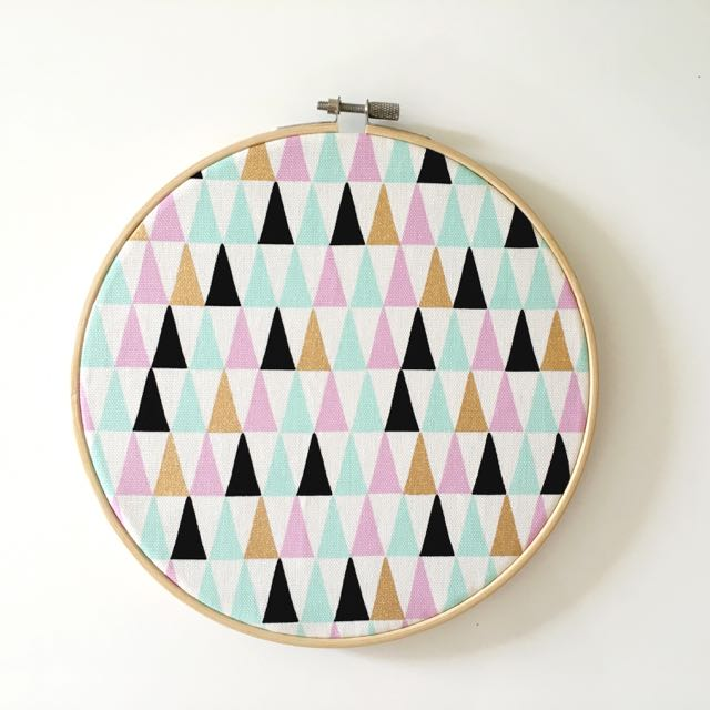 Pastel & Gold Geo Wall Hanging
