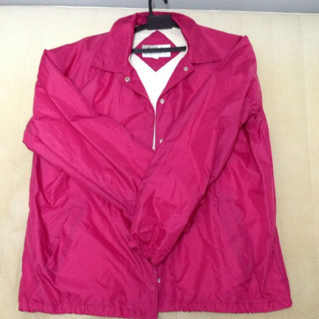 Pink Coach Jacket