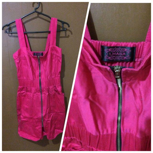 Pink Lhasa dress