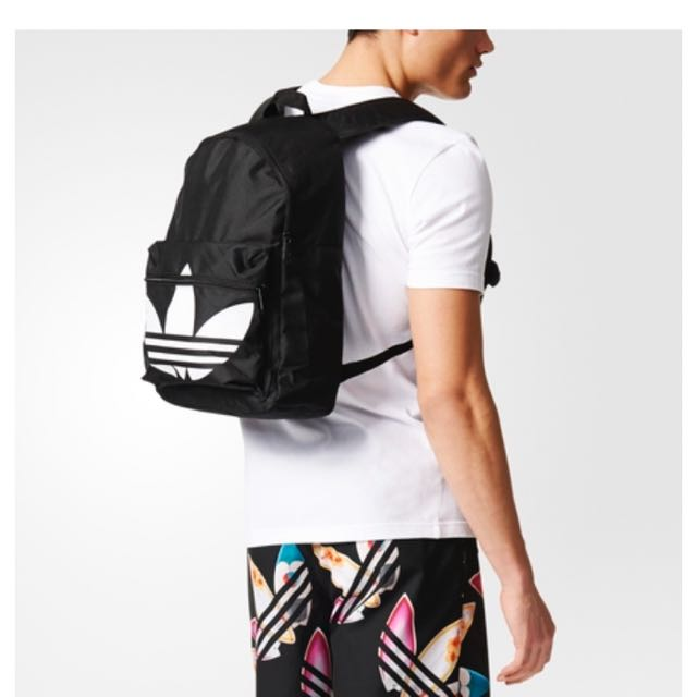 PO Authentic Adidas Classic Trefoil Backpack 518a7c0eb