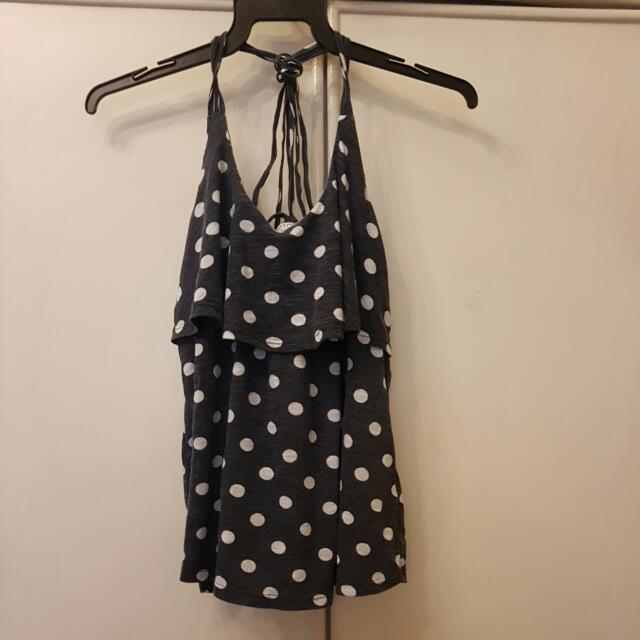 Polka Dot Tank Cotton On Top