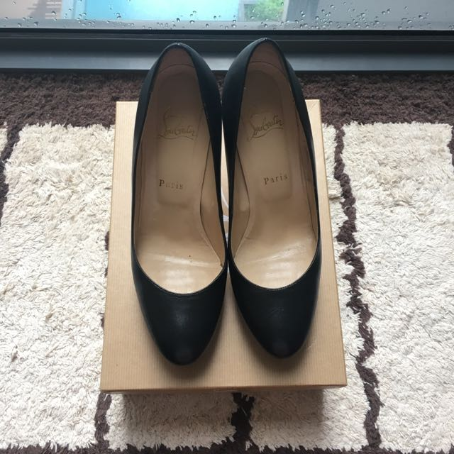 cheap for discount c7895 01868 Preloved Christian Louboutin New Simple Pump 100mm In Black Size 39 For S$  799 Only