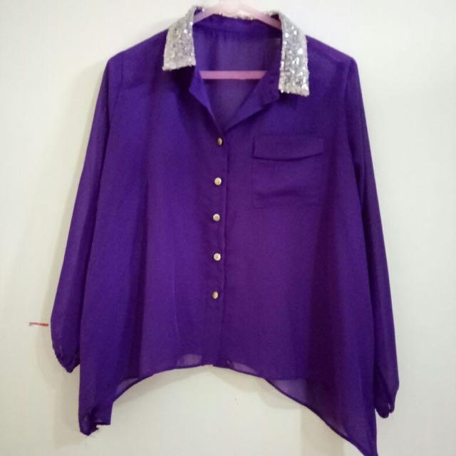 Purple Blouse Blink