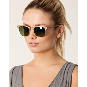 ray ban rb3016 clubmaster sunglasses 3106