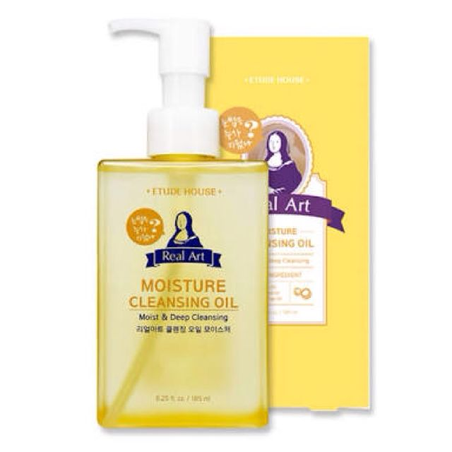 Real Art Moisture Cleansing Oil